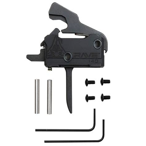 Rise Armament Ar15 Ra140 Rave Super Sporting Trigger Ra140 Rave Super Sporting Trigger Dropin Flat