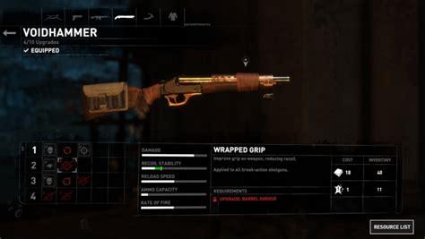 Rise Of The Tomb Raider Double Barrel Shotgun