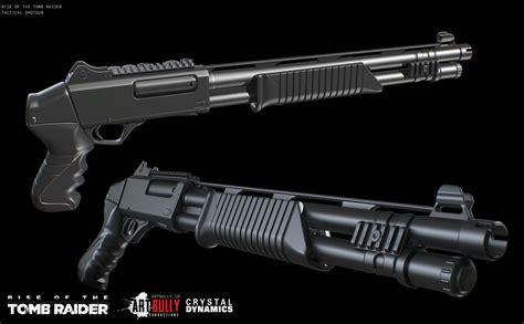 Rise Of The Tomb Raider Tactical Shotgun