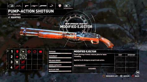 Rise Of The Tomb Raider Tactical Shotgun Vs Full Auto