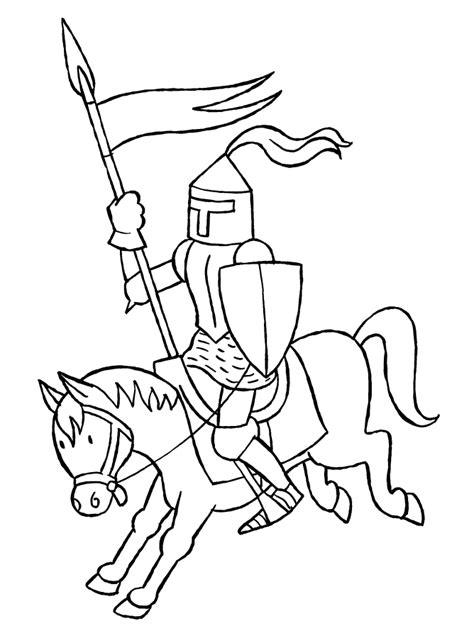 Ritter Malvorlagen Für Kinder Erklärt
