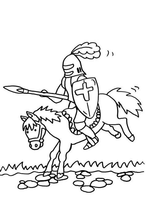 Ritter Und Burgfräulein Malvorlagen