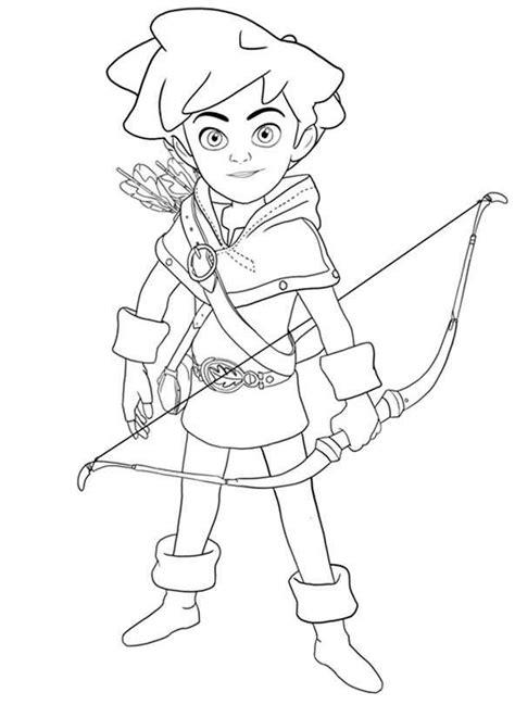 Robin Hood Malvorlagen Quest