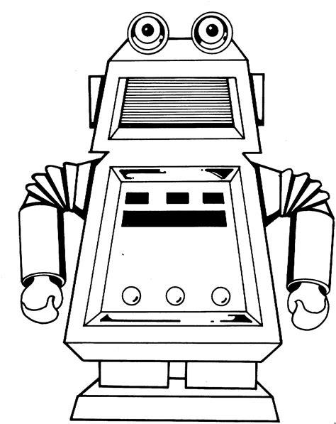 Roboter Malvorlage Kinder