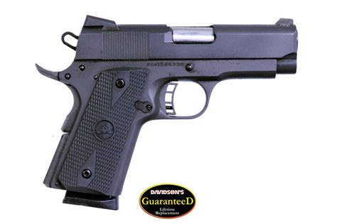 Rock Island Armory M1911 A1 Csp Pistol 45 Acp 3 5in 7rd And Best 9mm Selfdefense Ammo For Concealed Carry Top 5