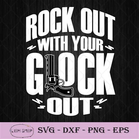 Rock Out With Your Glock Out Patch