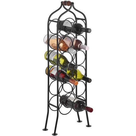rod iron wine racks Image