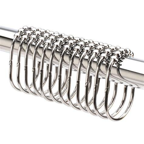 Roller Shower Curtain Rings Ideas