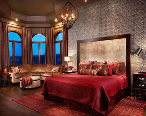 Romantic Red Master Bedroom Ideas