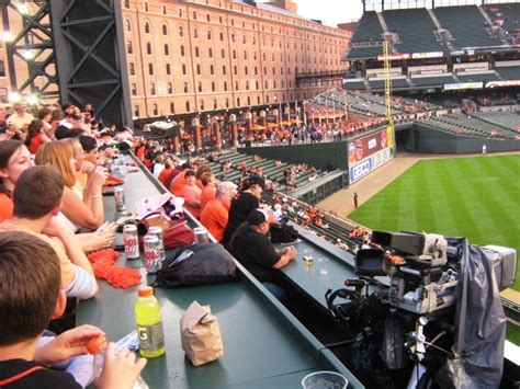 Roof deck seats at camden yards Image