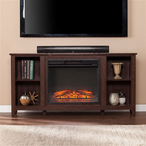 "Rosier TV Stand for TVs up to 50"" with Fireplace"