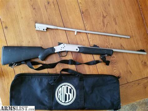 Rossi 22 Rifle 410 Shotgun