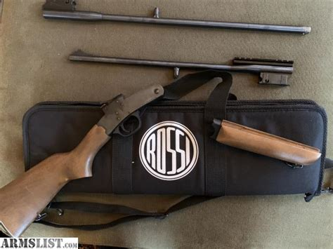 Rossi Youth 22 Cal Rifle 410 Shotgun Combo Over Under