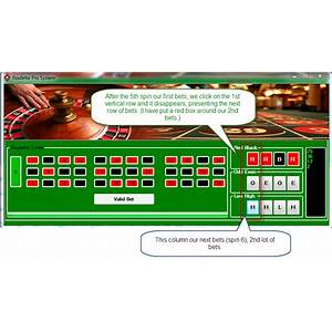 Roulette betting software roulette system software tutorials