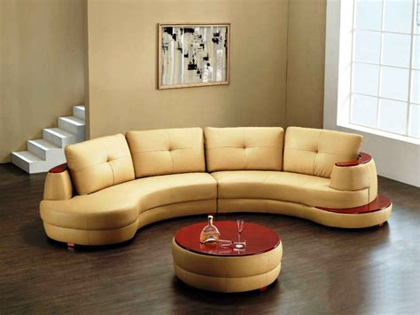 Round Sofa Chair With Cup Holder