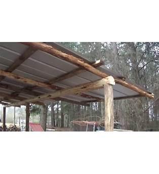 Round Pole Barn Plans