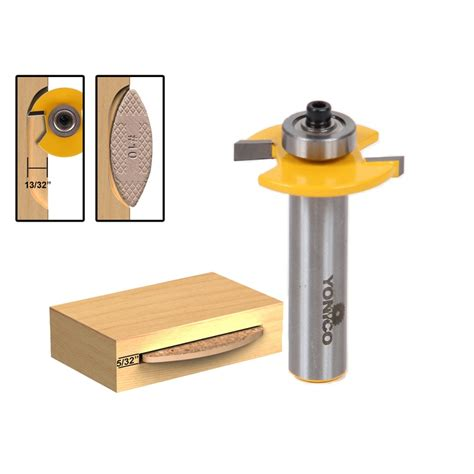 Router bit for biscuit joint Image