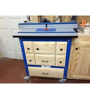 Router Table Cabinet Plans Kreg