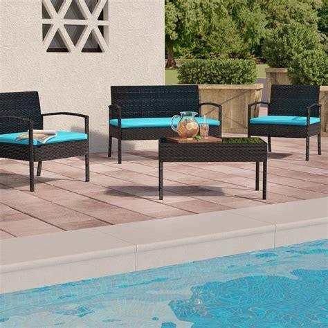 Roxana 4 Piece Set with Cushions