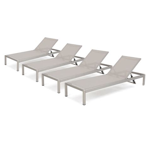 Royalston Mesh Chaise Lounge Set (Set of 2)