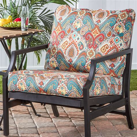 Royalston Outdoor Patio Chair with Cushion (Set of 4)