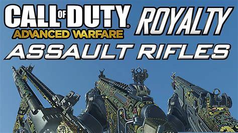 Royalty Camo Assault Rifles