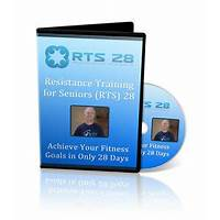 Cash back for rts 28 dvd & guidebook for mature adults workout at home