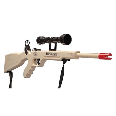 Rubber Band Rifle With Scope