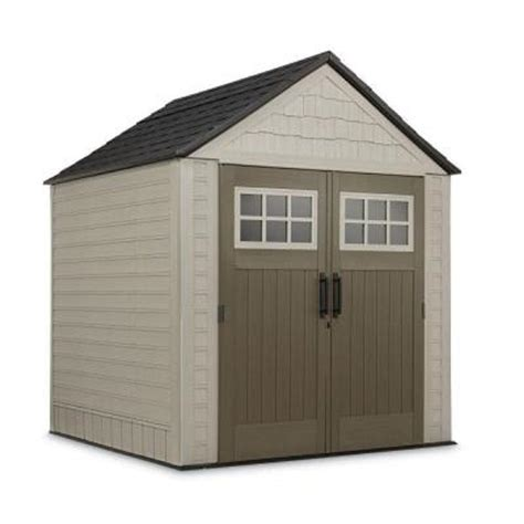 Rubbermaid storage shed 7x7 Image