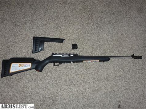 Ruger 10 22 Anniversery Rifle Sale