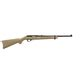 Ruger 10 22 Black Coyote Brown Synthetic Stock 22lr 11183