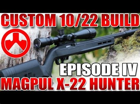 Ruger 10 22 Build Part 4 Magpul X22 Hunter Rifle Stock Install