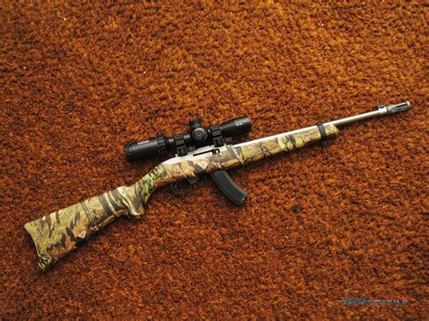 Ruger Ruger 10 22 Camo With Scope.