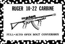 Ruger 10 22 Carbine Full Auto Open Bolt Conversion