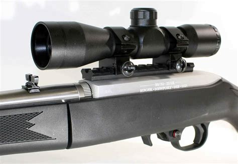 Ruger 10 22 Compact Rifle With Scope For Sale