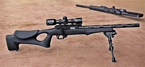 Ruger 10 22 Hogue Overmolded Stock And 10 22 With Magpul Stock
