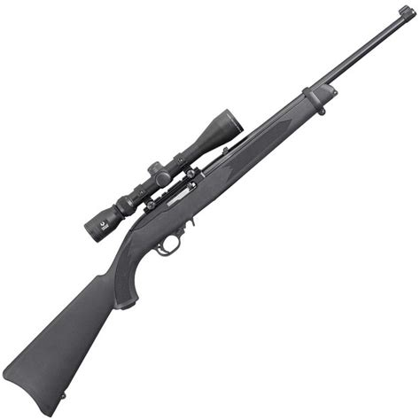 Ruger 10 22 Semiautomatic Rifle With Scope