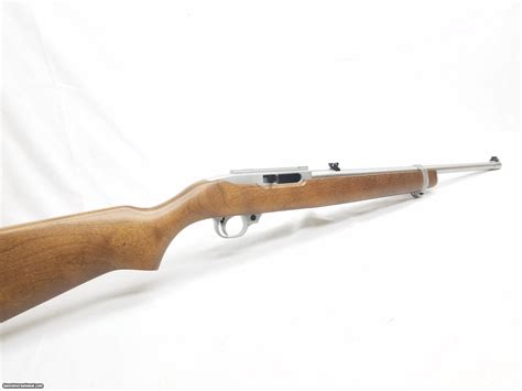 Ruger 10 22 Stainless With Wood Stock