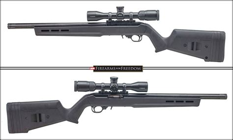 Ruger 1022 22lr With Mag Pul Stock