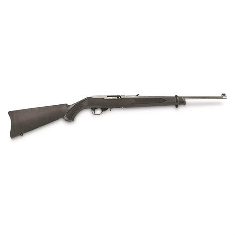 Ruger 1256 10 22 Rifle 22 LR 18 5in Stainless 10rd Black