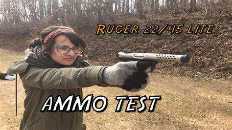 Ruger 22 45 Ammo Test