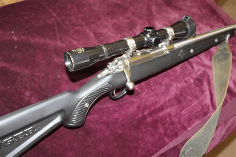 Ruger 22 Bolt Action Rifle With Scope