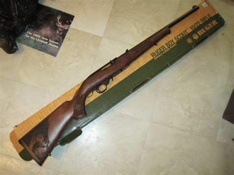 Ruger 22 Boy Scout Rifle