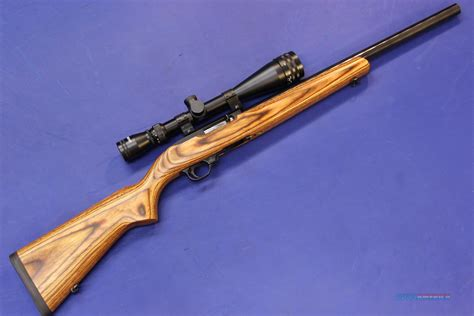 Rifle Ruger 22 Long Rifle.