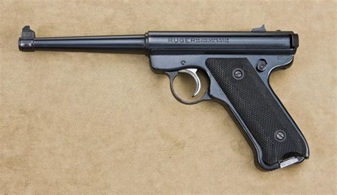 Ruger 22 Long Rifle Pistol Value