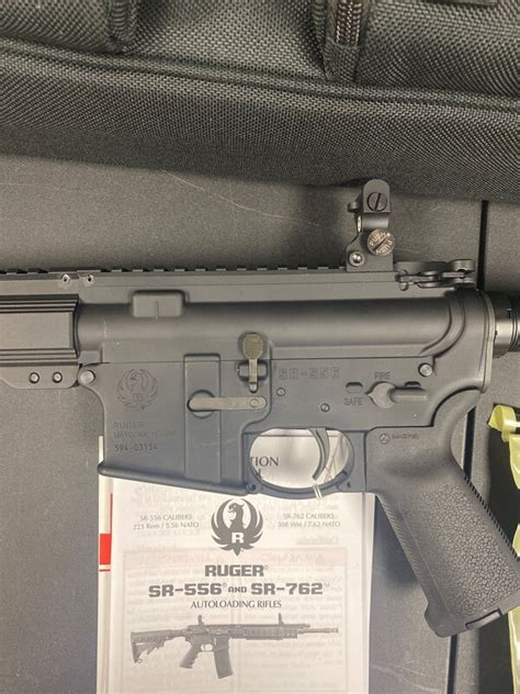 Ruger 5924 SR-556 Takedown AR-15 Rifle 5 56mm 16in 30rd