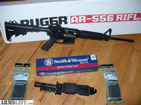Ruger Ar 556 With Bayonet And Most Accurate Ammo For Ruger Ar 556