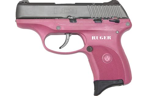Ruger Lc9 9mm Centerfire Pistol With Raspberry Grip Frame Buy