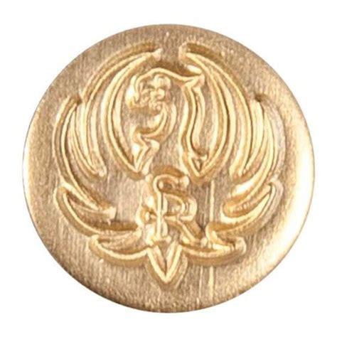 Ruger M77 Mark Ii Pistol Grip Medallion Ruger M77 Mark Ii Pistol Grip Medallion Gold Brass