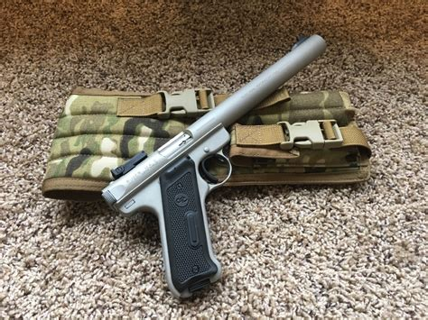 Ruger Ruger Mark Ii Suppressed Barrel.